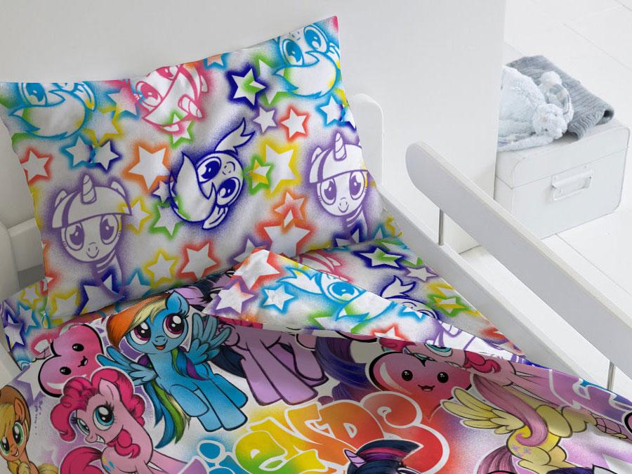 Комплект постельного белья Граффити