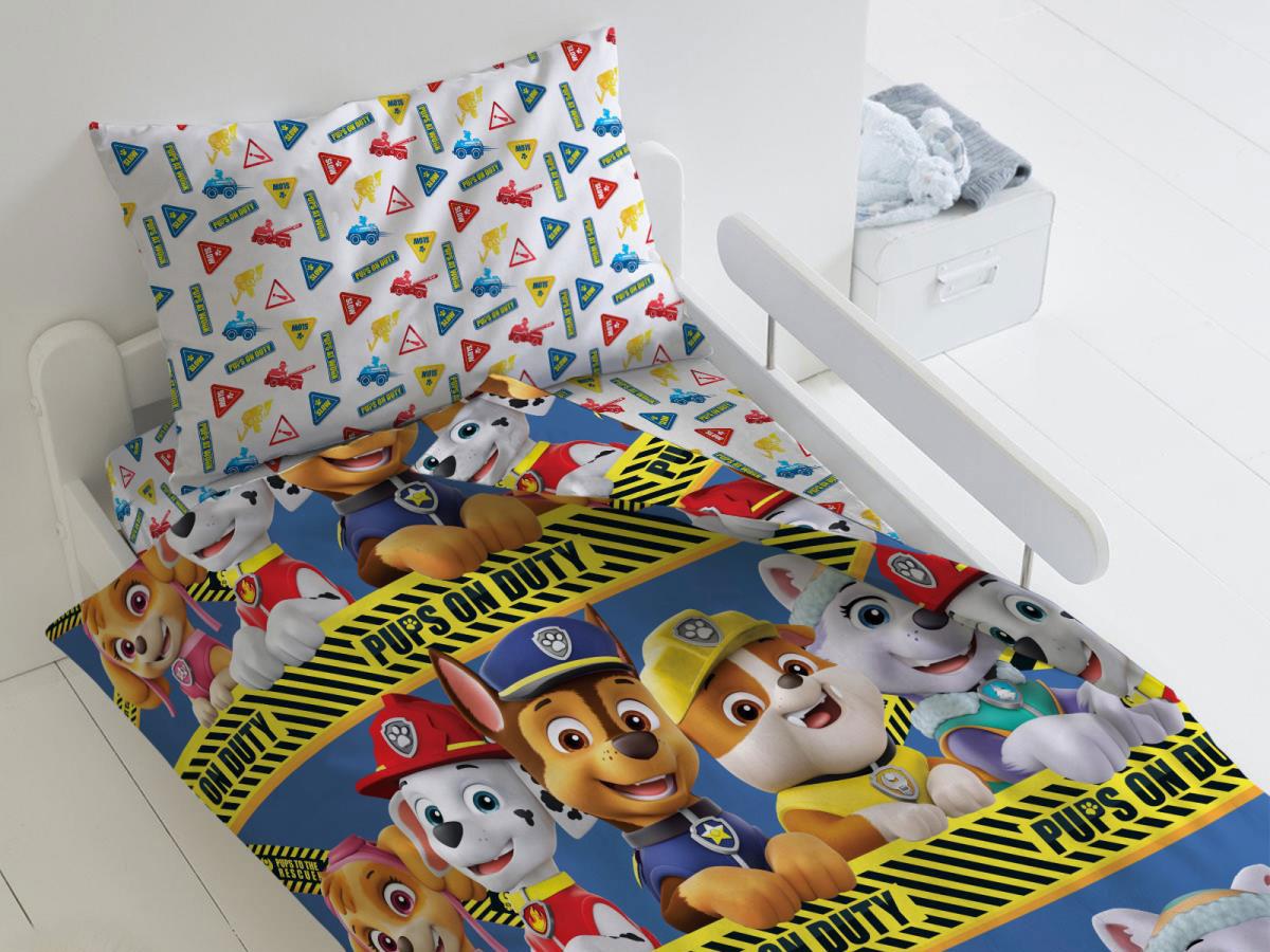 Комплект постельного белья Щенки на страже